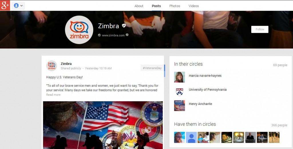 Zimbra-Google